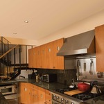 Aurora LED Square Beveled 2 Inch Flangeless Trim/Housing - Satin Black /
