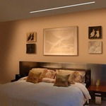 Reveal Wall Wash Plaster-In LED System 5W 24VDC by Pure Lighting
