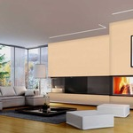 Reveal Wall Wash 6W RGBW RGB/White Plaster-In System - Satin Aluminum