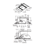 Aurora RGB/Halogen Square 3.3 Inch Invisible Trim/Housing -  /