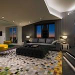 Aurora Square Recessed  | by Pure Lighting<br />Interior Design | Michael Richman