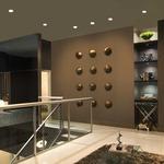 Aurora Halogen Round Edge 3.3 Inch Invisible Trim/Housing by Pure Lighting