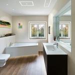 Aurora Halogen Square Edge 2 Inch Flangeless Trim/Housing - White Trim/ Haze Dome /