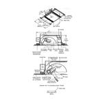 Aurora Halogen Square Edge 1.3 Inch Flangeless Trim/Housing -  /