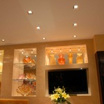 Aurora Square 2 Inch Beveled Trim and Housing by Pure Lighting
