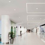 TruLine 1A 2.5W 24VDC Plaster-In LED System - White