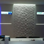 Stratus Wet Location 2800K Linear Wall Grazer by Pure Lighting