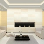 Reveal Wall Wash Plaster In LED by Pure Lighting