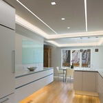 Reveal Wall Wash 5W 24VDC Plaster In LED System by Pure Lighting
