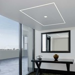 TruLine .5A 2.5W 24VDC Plaster-In LED System by Pure Lighting