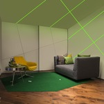 TruLine .5A 5W 24VDC RGB Plaster-In LED System  - White /