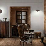 Puzzle Single Round Wall / Ceiling Light -