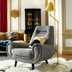 St Germain Swing Arm Floor Lamp by Jonathan Adler