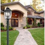 Bain Outdoor Post Light -