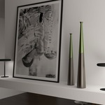 Tall Radius Desk Light with WiFi by Ilomio