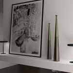 Tall Radius Desk Light with WiFi by Ilomio