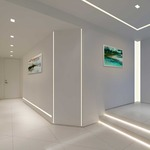 Reveal Plaster-In LED System 5W 24VDC by Pure Lighting