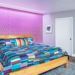 Reveal Wall Wash RGB Plaster-In LED System 5W 24VDC by Pure Lighting