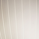 Aero Six Light Square Ribbon Flat Rim Bath Bar - Brushed Nickel / Ribbon
