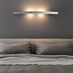 Riga Wall Lamp - Satin Nickel /