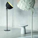 Rock Floor Lamp -  / White