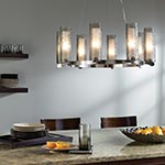 Rock Candy 8-light Chandelier by LBL Lighting