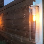 Dome Outdoor Wall Light -