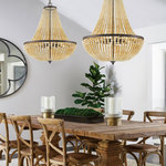 Rylee Wood Chandelier -