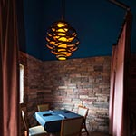 Vertigo Pendant by Corbett Lighting | The Saddle Room