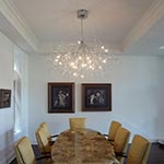 Saggina 12 Light Ceiling Mount by Lightology Collection