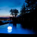 Flatball Portable Bluetooth LED Floating Pool Light -