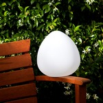 Stone LED Outdoor/Indoor Lamp by Smart & Green