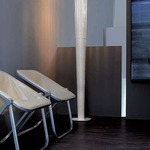 Sher Floor Lamp by Oluce Srl