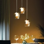 Simple Adjustable Pendant by Hubbardton Forge