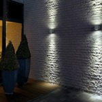 Sitra Up/Down Outdoor Wall Sconce by SLV Lighting