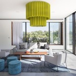 Skirt Double Ceiling Light Fixture -