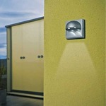 Dacu LED Outdoor Wall Sconce - Silver Grey /