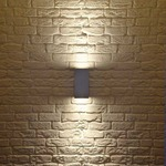 Big Theo Exterior Up/Down Wall Light -  /