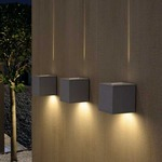 Big Theo Beam Outdoor Wall Sconce by SLV Lighting