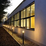 Alpa II 75 Exterior Bollard by SLV Lighting
