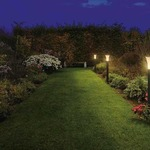 Alpa Cone Outdoor Bollard by SLV Lighting