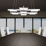 Panels Rectangle Pendant by SONNEMAN - A Way of Light