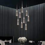 Spire Round Multi-Light Pendant by SONNEMAN - A Way of Light