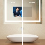 Loft Mirror with 15 inch TV -  / Mirror