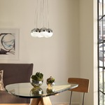 Sphere 7-Light Suspension by LBL Lighting