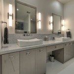 Square Bath Bar -