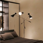 Stanley Adjustable Arm Floor Lamp by Delightfull