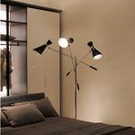 Stanley Adjustable Arm Floor Lamp by Delightfull