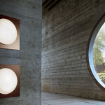 Star Halogen Wall/Ceiling Light by ml - Muranoluce