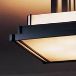 Steppe Square Semi Flush Ceiling Mount by Hubbardton Forge